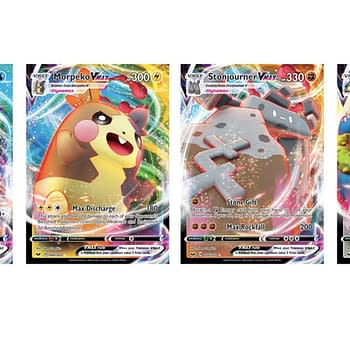 The Pokémon VMAX Cards Of Pokémon TCG: Sword &#038 Shield
