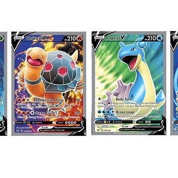 The Full Art Pokémon Cards Of Pokémon TCG: Sword &#038 Shield Part 1