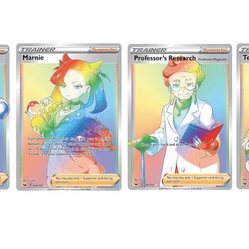 The Rainbow Rare Trainer Cards Of Pokémon TCG: Sword &#038 Shield