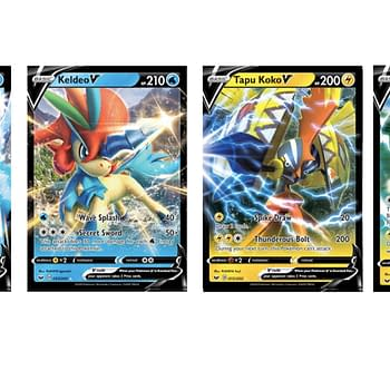 The Pokémon V Cards of Pokémon TCG: Sword & Shield Part 2