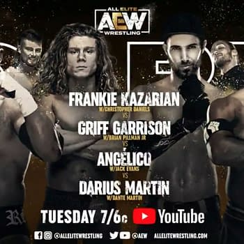 AEW Dark: 16 Matches Set for This Weeks Episode