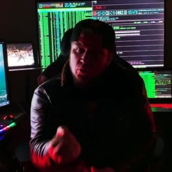 Sami Callihan cuts a spooky promo while doing some serious hacking on Impact Wrestling
