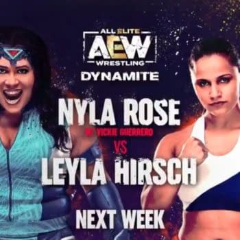 Nyla Rose will take on Leyla Hirsch on AEW Dynamite next week.