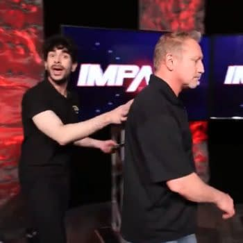 Tony Khan and Jerry Lynn appear at Impact Wrestling to scout the AEW vs. Impact main event