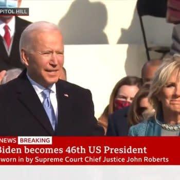 Comic Folk React To... The Inauguration Of Joe Biden