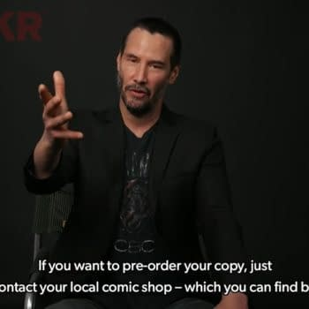 Keanu Reeves Tells Fans On YouTube How To Find Their Local Comic Shop