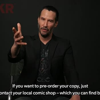 Keanu Reeves Tells YouTube Fans How To Find Their Local Comic Shop
