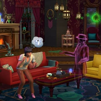 The Sims 4 Receives A New Paranormal Stuff Pack