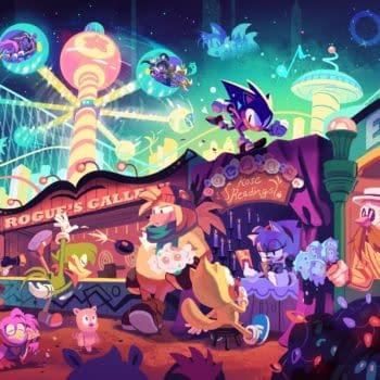 SEGA Adds Creepy Easter Egg To Holiday Sonic The Hedgehog Art