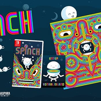 Spinch Will Get A Physical Edition For Switch &#038 Vinyl Soundtrack