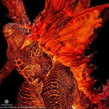 Godzilla Burns Bright With Spiral Studio King of the Monsters Statue