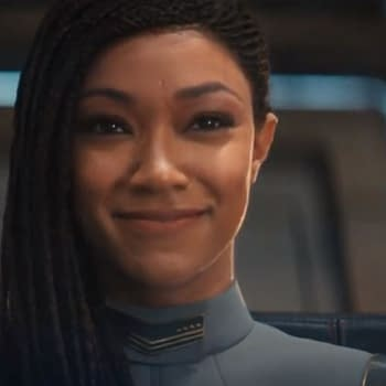 Star Trek: Discovery &#8211 Sonequa Martin-Green EPs Talk Burnhams Moment