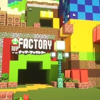 Someone Is Building Super Nintendo World In Minecraft
