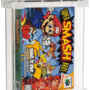 Great Copy Of Original Super Smash Bros. Is On Auction Right Now