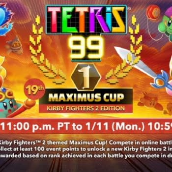 The First Tetris 99 Maximus Cup Of 2021 Focuses On Kirby Fighters 2