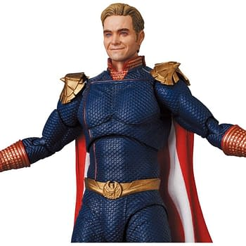 The Boys Homelander MAFEX Figure Arrives With Deadly Power