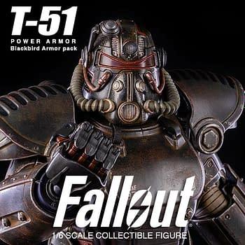 Fallout Blackbird Power Armor Set Arrives at threezero
