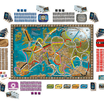 Ticket To Ride Europe Gets A Special 15th Anniversary Edition