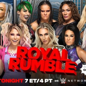 Match graphic for the Womens Royal Rumble match