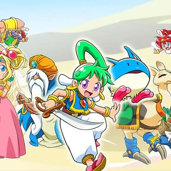 ININ Games Announces Wonder Boy - Asha In Monster World