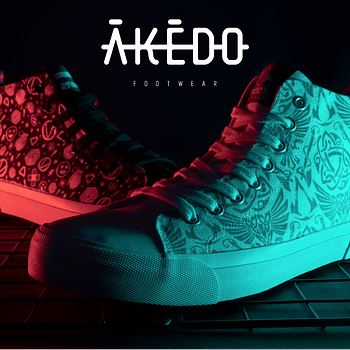 Zavvi &#038 Akedo Launch An Exclusive Gaming Pair Of High Tops
