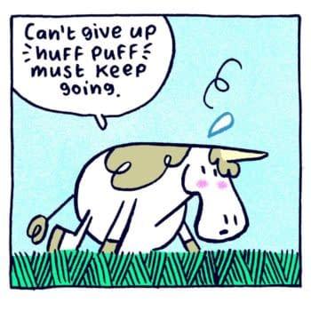 Andi Watson Sells Punycorn Graphic Novel to Clarion