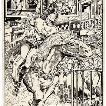 Barry Windsor-Smith Conan Page Auctioning For $52500 One Day To Go