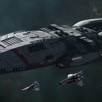 Battlestar Galactica: Sam Esmail updates Peacock reboot series. (Image: NBCU)
