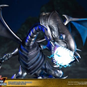 Yu-Gi-Oh Blue Eyes White Dragon Summoned by First 4 Figures