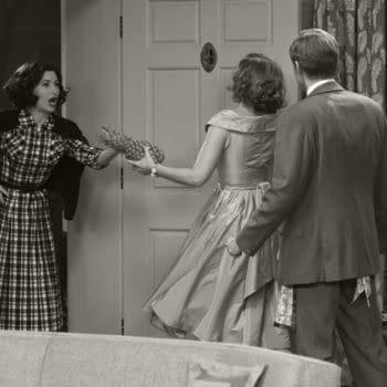 """WandaVision – Meet Agnes: Their Sitcom Alt-Reality """"Noisy Neighbor"""""""