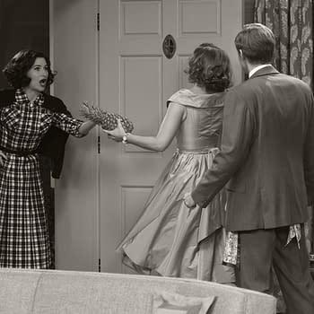 WandaVision &#8211 Meet Agnes: Their Sitcom Alt-Reality Noisy Neighbor
