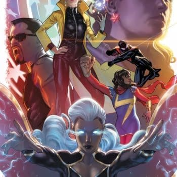 Chris Cross, Natacha Bustos and Olivier CoipelJoin Marvel's Voices