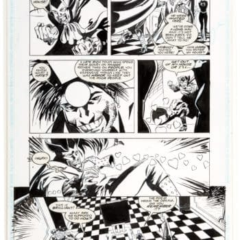 Put An Original Grant Morrison Doom Patrol Page On Your Wall For $50?