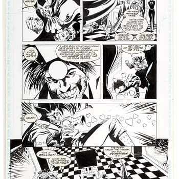 Put An Original Grant Morrison Doom Patrol Page On Your Wall For $52