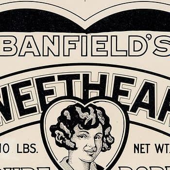 Edgar Church Banfield's Sweetheart Pure Pork Sausage Advertising Production Materials (Ideal Art Service, 1930s).