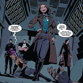 Captain Kaylee And The Last Person Anyone Expected in Firefly #25