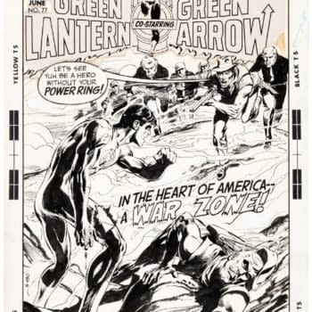 In The Heart Of America, A War Zone - Green Lantern/Arrow At Auction