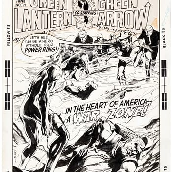 In The Heart Of America A War Zone &#8211 Green Lantern/Arrow At Auction