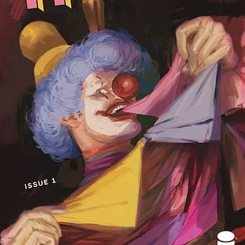 Haha #1:  Image Comics Twists the Funnyman Trope