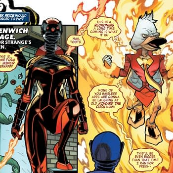 Howard The Phoenix In Todays Avengers #41 &#8211 And for President