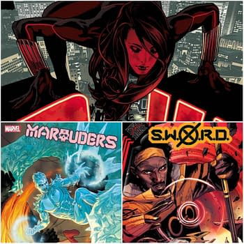 Marvel Ch-Ch-Changes For Black Widow #5 Marauders #18 and SWORD #3
