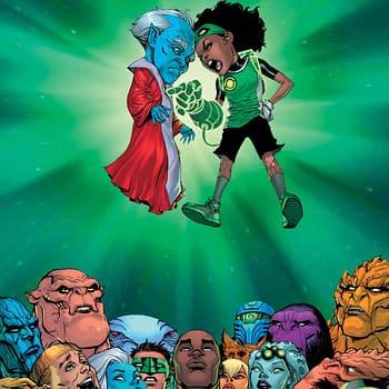Teen Lantern and Jo Mullein Join John Stewart in Green Lantern #1