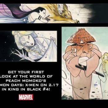 Peach Momoko's Demon Days X-Men begins in The King In Black #4