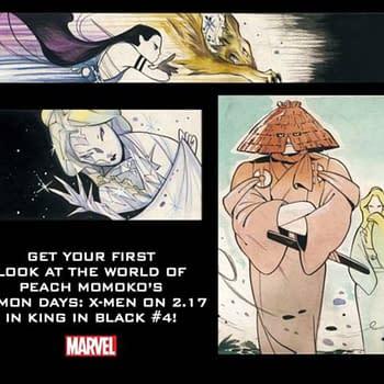 Peach Momokos Demon Days X-Men Begins in The King In Black #4