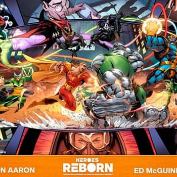 Jason Aaron &#038 Ed McGuiness Heroes Reborn &#8211 A World Without Avengers