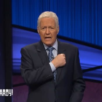 Jeopardy! Host Alex Trebek had a final message for viewers. (Image: ABC screencap)