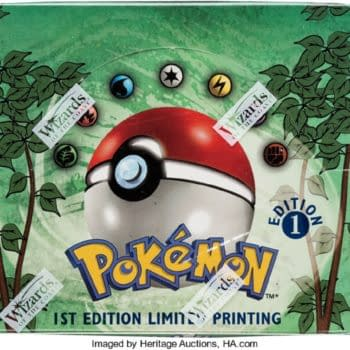 Pokémon TCG Sealed 1st Edition Jungle Booster Box Up For Auction