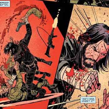 The Bleeding Cool First Review of Keanu Reeves BRZRKR Comic Book
