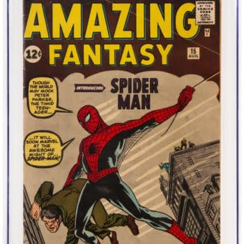 Amazing Fantasy #15 Signed By Stan Lee and Steve Ditko To Auction