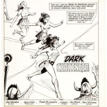 Gene Colan Wonder Woman Original Art Going For A Song